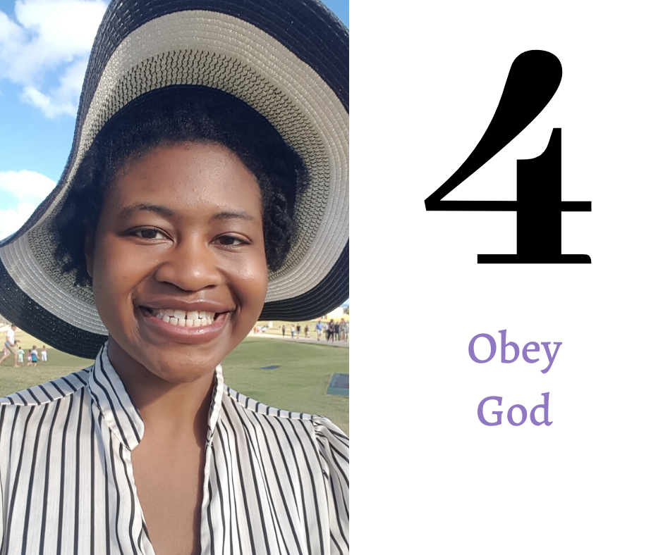Key number four: Obey God.